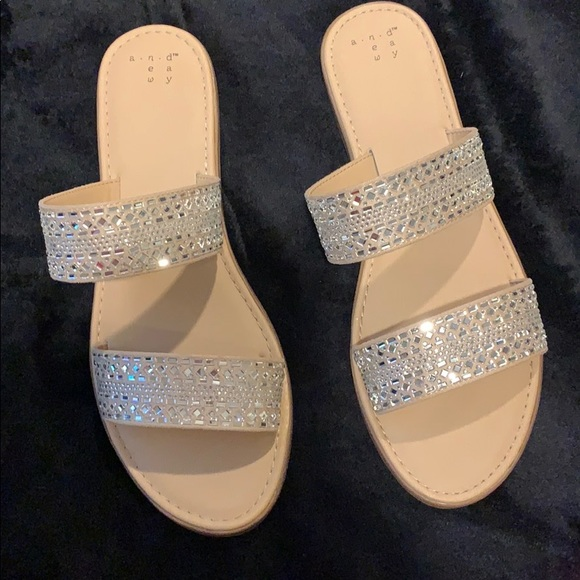 281162fce48f a new day Shoes - A New Day Target KERSHA Embellished sandal 9.5